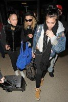Madonna and Lourdes at JFK airport, 21 February 2012 - Update 3 (10)