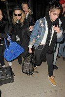 Madonna and Lourdes at JFK airport, 21 February 2012 - Update 3 (24)