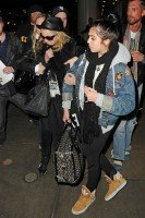 Madonna and Lourdes at JFK airport, 21 February 2012 - Update 3 (27)