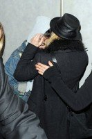 Madonna and Lourdes at JFK airport, 21 February 2012 - Update 3 (28)