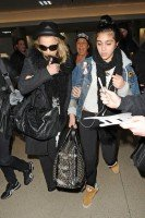 Madonna and Lourdes at JFK airport, 21 February 2012 - Update 3 (38)