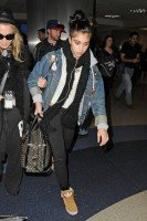 Madonna and Lourdes at JFK airport, 21 February 2012 - Update 3 (48)