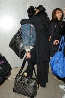 Madonna and Lourdes at JFK airport, 21 February 2012 - Update 3 (49)