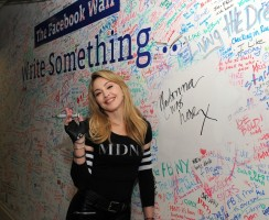 Madonna and Jimmy Fallon at the Facebook Wall in New York (6)