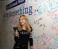 Madonna and Jimmy Fallon at the Facebook Wall in New York (7)