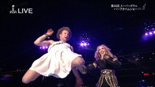 Madonna at the Super Bowl Halftime Show - 5 February 2012 - HD video (3)