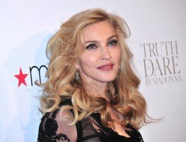 Madonna at the Truth or Dare fragrance launch - Macy's, NYC - HQ (37)
