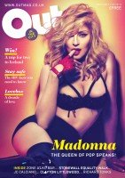 Madonna for Out in the City Magazine, May 2012 Issue (1)