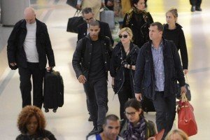 Madonna at JFK airport in New York - 24 May 2012 (1)
