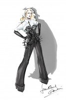 MDNA Tour Costumes - Sketches (3)