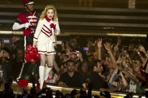 MDNA Tour Opening in Tel Aviv - HQ Part 3 (14)