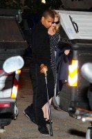 Madonna and Brahim Zaibat at the Molto restaurant - 10 June 2012 (1)