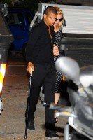 Madonna and Brahim Zaibat at the Molto restaurant - 10 June 2012 (2)