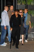 Madonna and Brahim Zaibat at the Molto restaurant - 10 June 2012 (7)