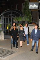 Madonna and Brahim Zaibat at the Molto restaurant - 10 June 2012 (8)