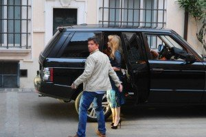 Madonna out and about in Rome - 12 June 2012 (5)