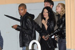 Madonna out and about in Rome - June 2012 (3)