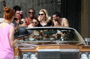 Madonna on the set of Turn up the Radio - 18 June 2012 - Part 3 (20)