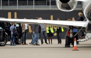 Madonna at the Luton Airport, London - 23 June 2012 (2)
