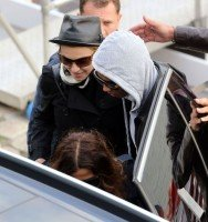 Madonna out and about in Paris - 16 July 2012 (3)