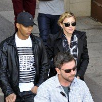 Madonna visits the Leopold Museum, Vienna - 30 July 2012 (5)