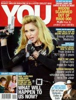 South African magazine YOU featuring Madonna - August 2012 (1)