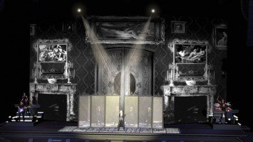 MDNA Tour Stage - Sketches and renderings (3)
