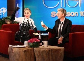 29 October 2012 - Madonna on The Ellen DeGeneres Show (2)