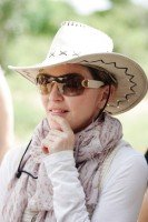 Madonna and family visiting Malawi - Mkoko Primary School - 2 April 2013 (1)