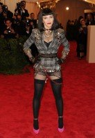 Madonna attends the Met Gala in New York - 6 May 2013 - Punk (2)