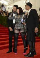Madonna attends the Met Gala in New York - 6 May 2013 - Punk (16)