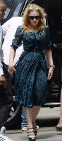 Madonna out and about New York - Kabbalah Centre - 13 July 2013 (2)