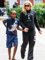 Madonna out and about in London - 27 July 2013 (2)