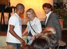 Madonna at the classic music festival in Menton - 9 August 2013 (6)