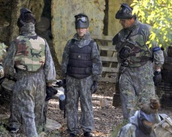 Madonna enjoys a game of paintball in the south of France - update (1)
