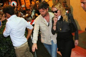 Madonna visits the Hard Candy Fitness Center in Rome - 20 August 2013] (1)