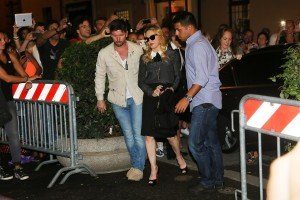 Madonna visits the Hard Candy Fitness Center in Rome - 20 August 2013] (5)