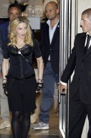 Madonna at the Hard Candy Fitness Centre, Rome - 21 August 2013 (11)
