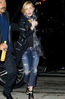 Madonna at Prime restaurant at New York's Bentley Hotel - 20 September 2013 (1)