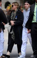 Madonna out and about, New York - 5 October 2013 (1)