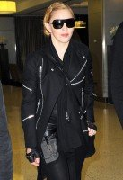 Madonna arrives at JFK airport, New York - 14 October 2013 (1)