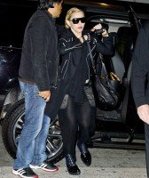 Madonna arrives at JFK airport, New York - 14 October 2013 (5)