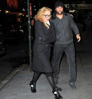 Madonna out and about in New York - 8 November 2013 (1)