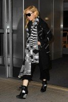 Madonna leaves JFK Airport, New York - 18 November 2013 (1)