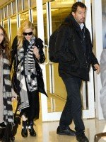 Madonna leaves JFK Airport, New York - 18 November 2013 (3)