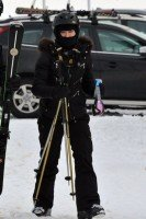 Madonna spotted skiing in Gstaad, Switzerland - December 2013 - Update 1 (7)