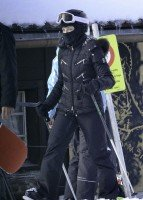 Madonna spotted skiing in Gstaad, Switzerland - January 2014 (11)