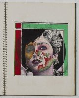 Incredible Madonna collection by Martin Burgoyne up for auction - Portfolio Sketchbook Drawings (1)