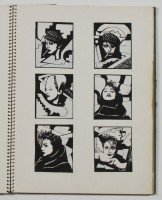 Incredible Madonna collection by Martin Burgoyne up for auction - Portfolio Sketchbook Drawings (3)