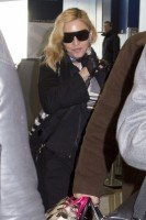 Madonna spotted at JFK Airport, New York - 23 January 2014 (2)